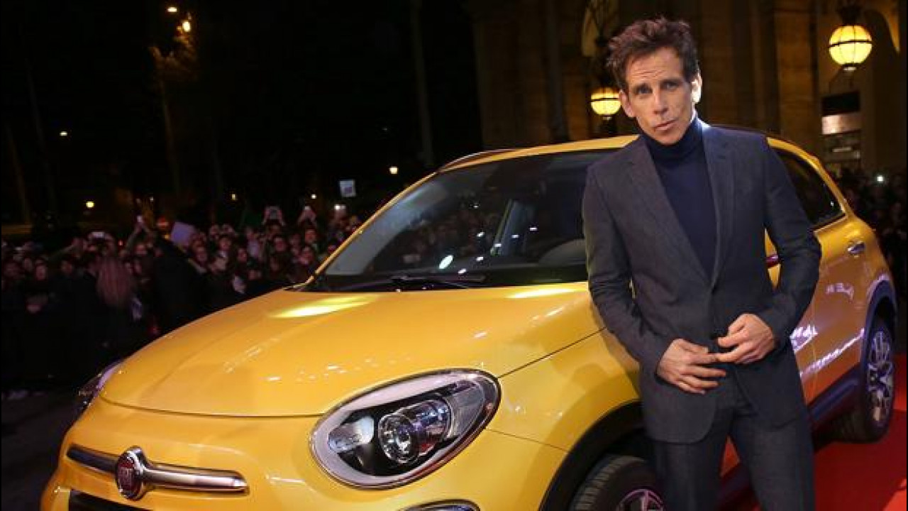 [Copertina] - Fiat 500X con Ben Stiller sul red carpet di Zoolander 2 [VIDEO]