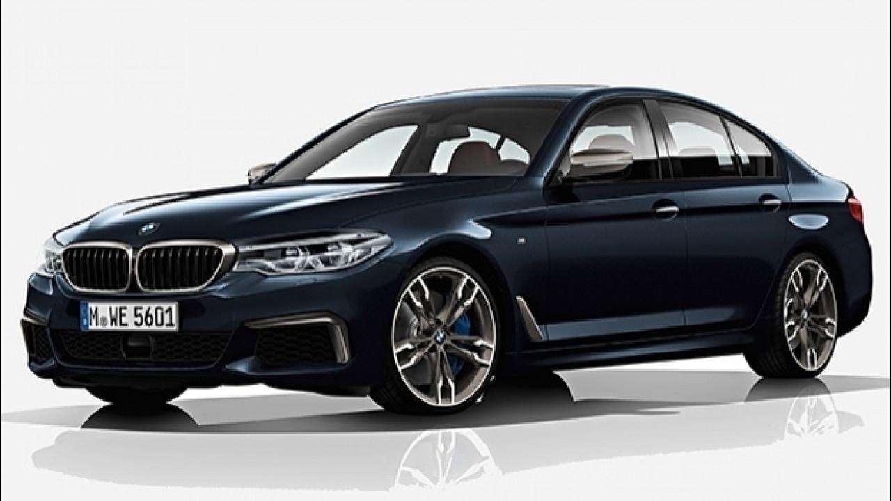 [Copertina] - Nuova BMW M550d xDrive, quattro turbo per la Diesel da 400 CV