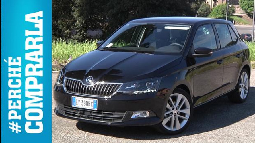 Skoda Fabia, perché comprarla... e perché no [VIDEO]