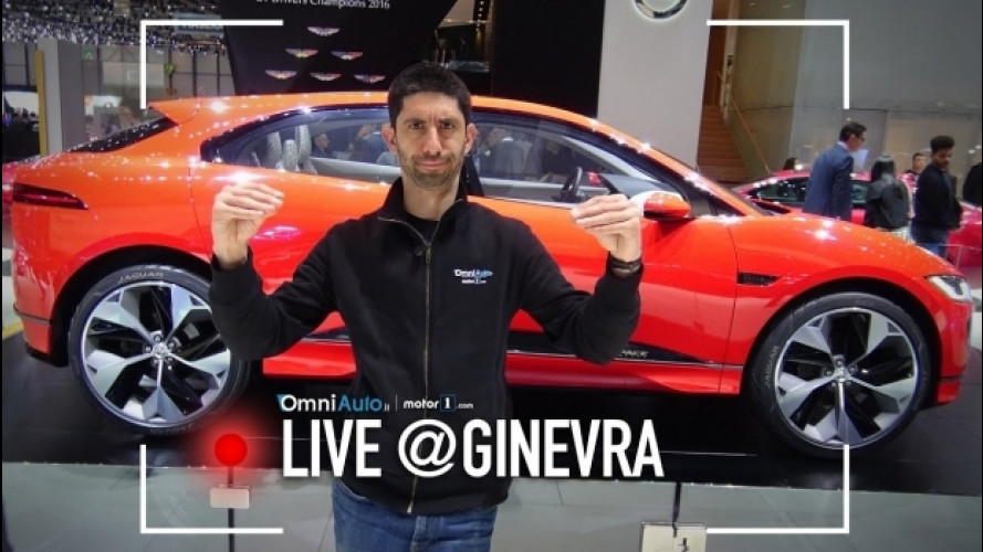 Salone di Ginevra, Jaguar I-Pace: un'altra idea di SUV [VIDEO]