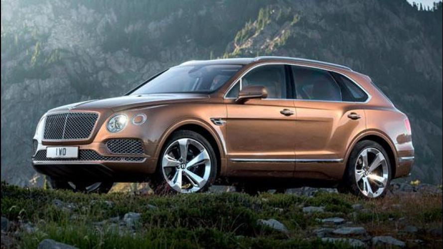 Bentley Bentayga, a Milano in prima linea per il nuovo store