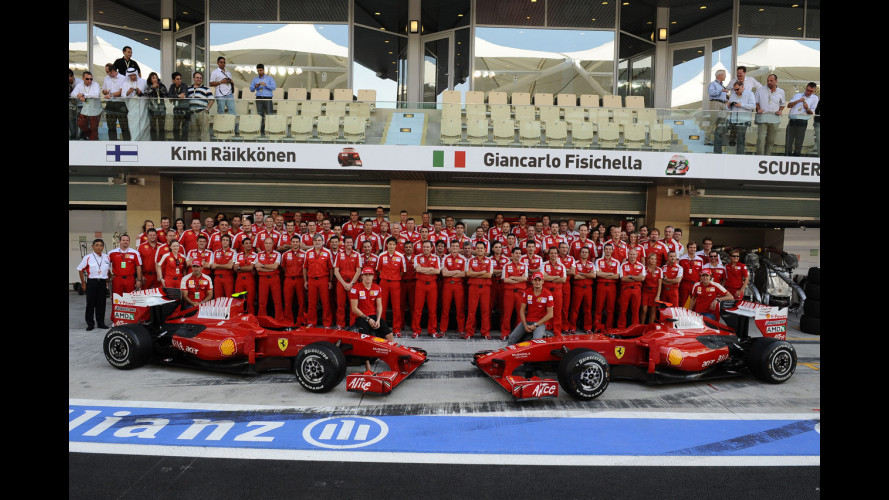 F1: ad Abu Dhabi finisce l'amara stagione Ferrari