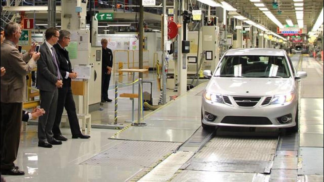 [Copertina] - Saab 9-3, dopo due anni riparte la produzione