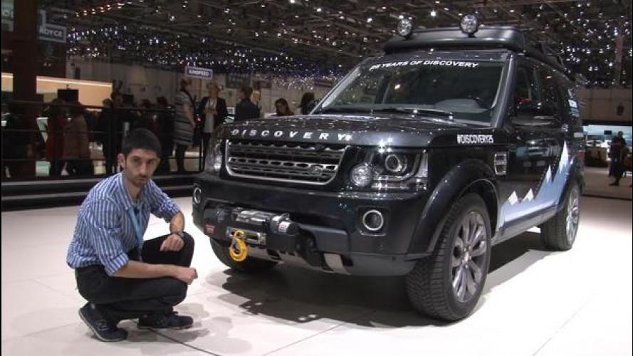 Land Rover Discovery: a Ginevra si festeggia per i 25 anni e per i nuovi Suv