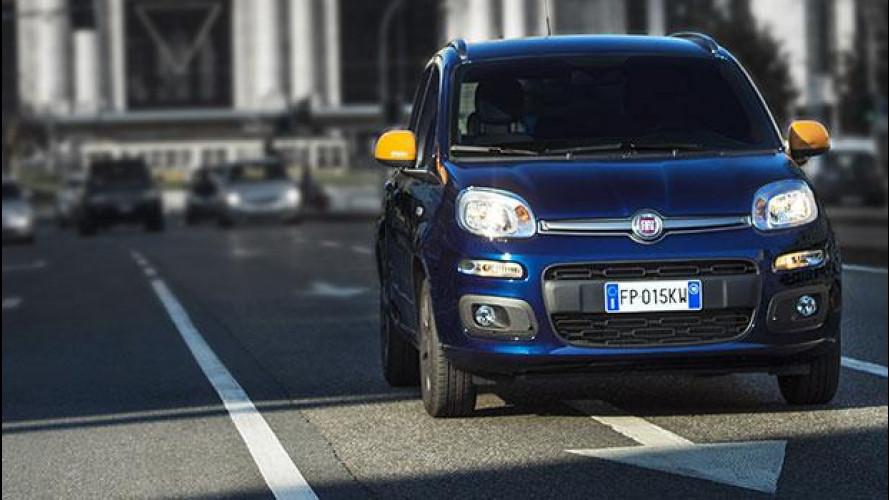 """Fiat Panda K-Way, l'impermeabile """"fa chic"""" anche in automobile"""