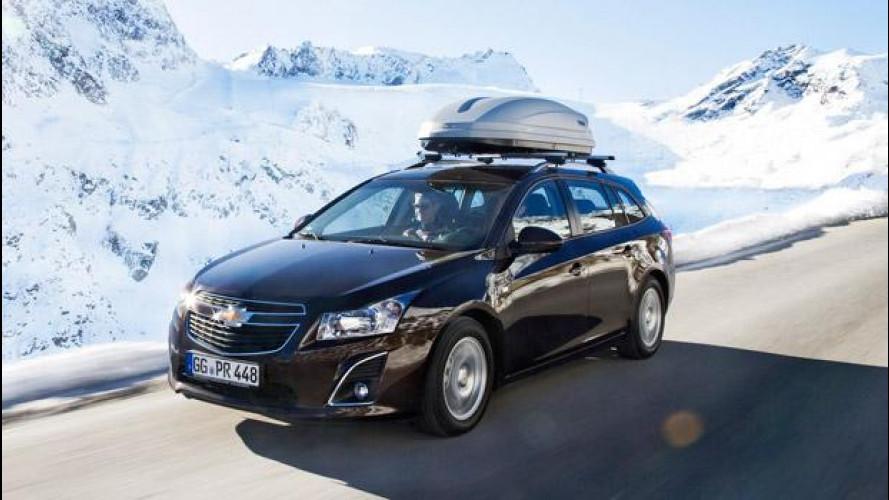 Chevrolet ricorda come viaggiare sicuri con i bambini in auto