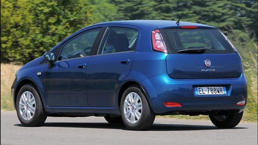 La Fiat Punto scende dal podio