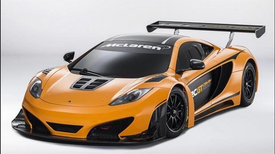 Una McLaren 12C pronta a sfidare la Ferrari 458 Speciale