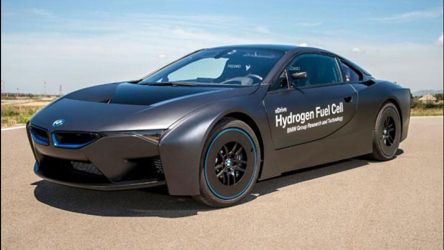 BMW eDrive, le bavaresi ad idrogeno