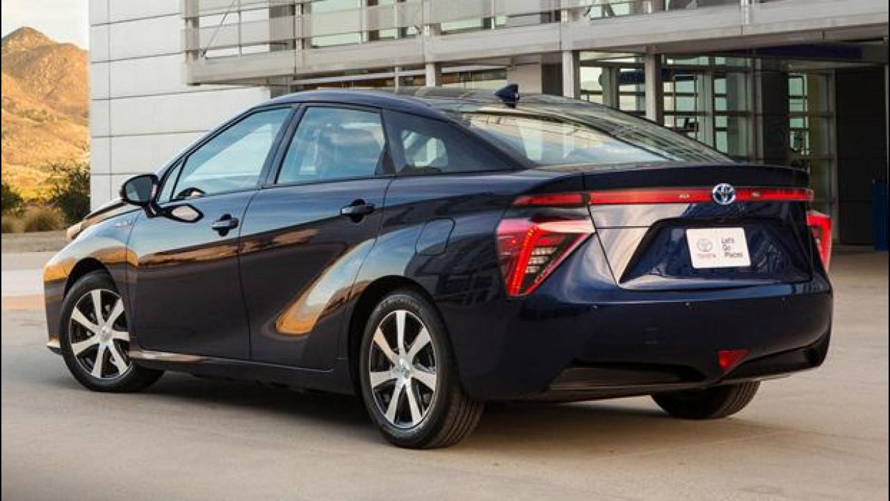 [Copertina] - Auto a idrogeno: Nissan, Toyota e Honda si alleano