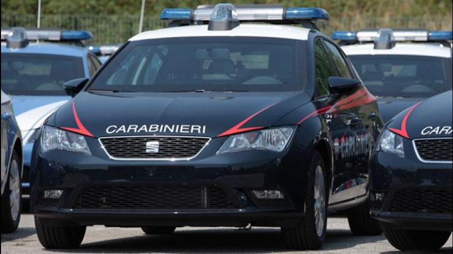 Seat Leon, prime consegne a Polizia e Carabinieri