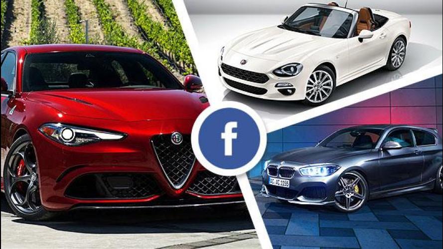 Le auto più social del 2015: su OmniAuto.it vince la Giulia