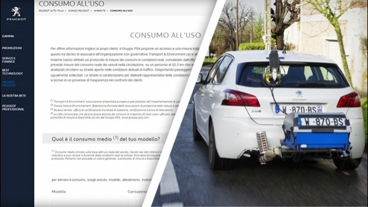[Copertina] - PSA, online i consumi reali di Citroen, DS e Peugeot