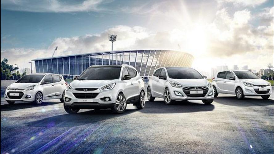 """Mondiali, Hyundai scende in campo con la Limited Edition """"Go! Brasil"""""""