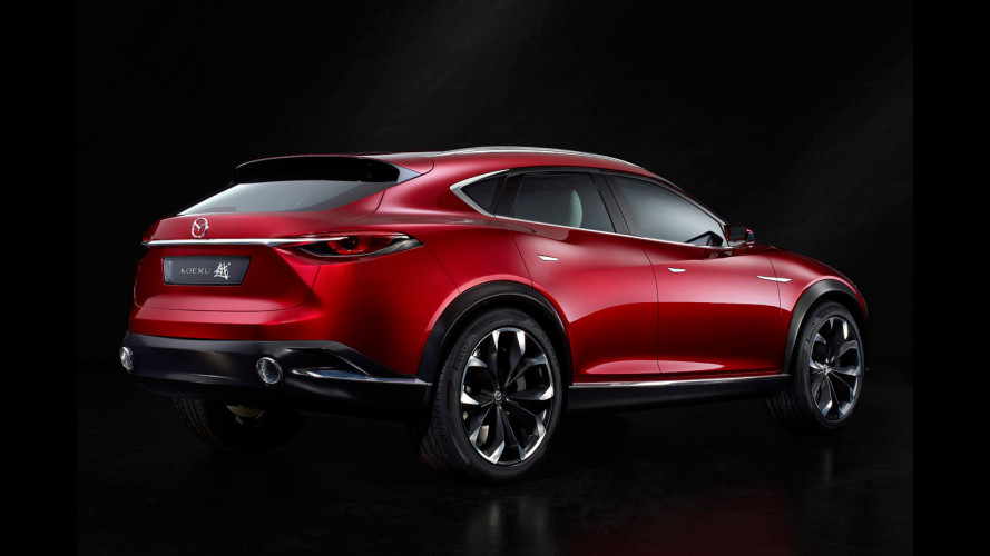 Salone di Francoforte: Mazda Koeru, aggressività da concept