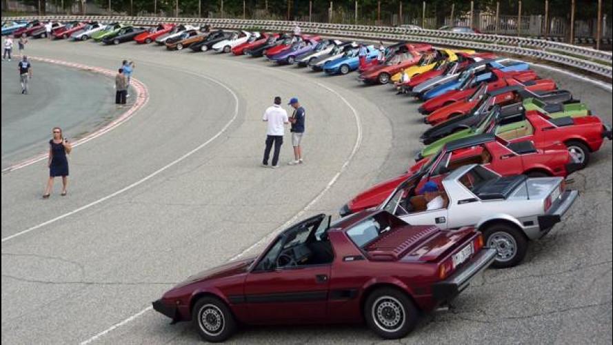 Fiat X1/9, il raduno che festeggia 40 anni