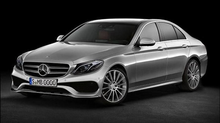 """Nuova Mercedes Classe E, verso forme più """"morbide"""""""