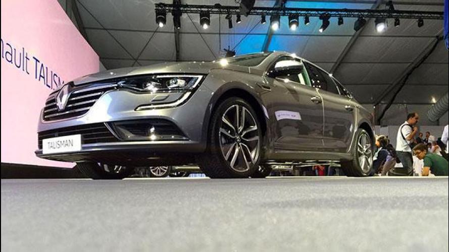 Renault Talisman, la nuova berlina vista dal vivo