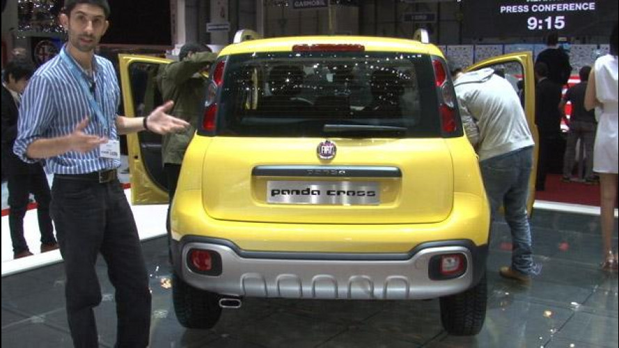 Fiat Panda Cross, l'avventurosa al Salone di Ginevra