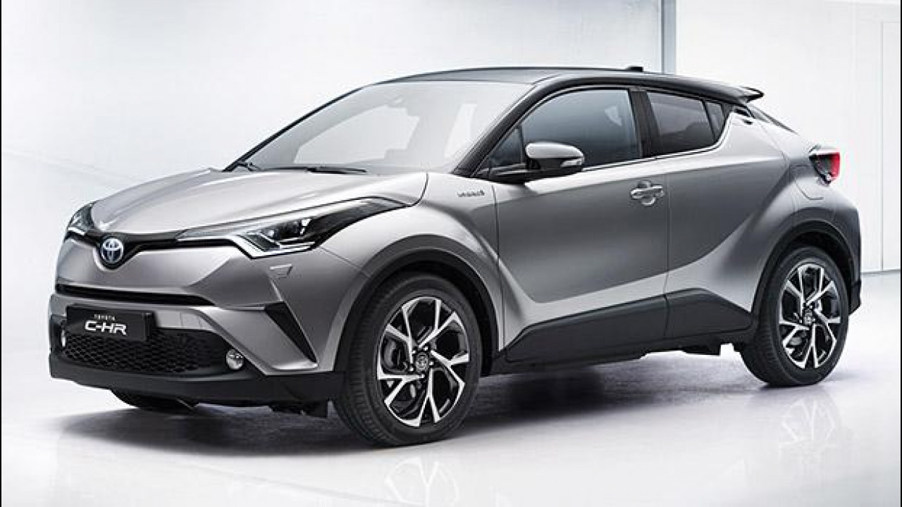 [Copertina] - Toyota C-HR, fra crossover e coupé [VIDEO]
