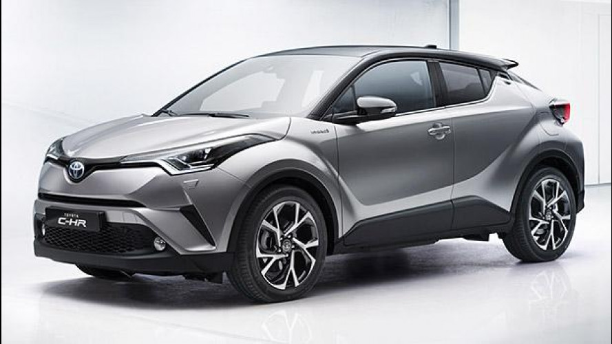 Toyota C-HR, fra crossover e coupé [VIDEO]