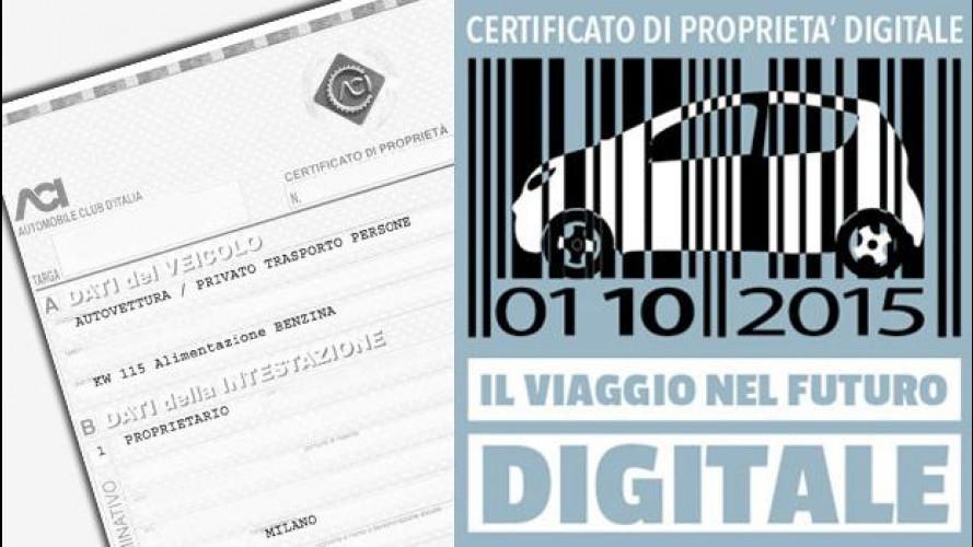 Certificato di Proprietà digitale ACI, perché è importante
