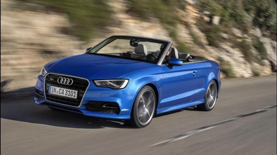 Nuova Audi A3 Cabriolet, rinnovato piacere