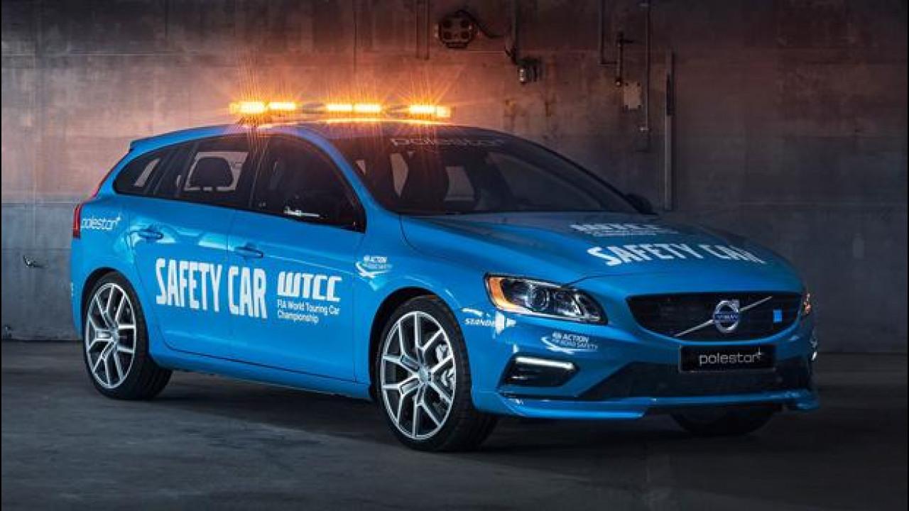 [Copertina] - Volvo V60 Polestar, la Safety Car del Campionato Turismo