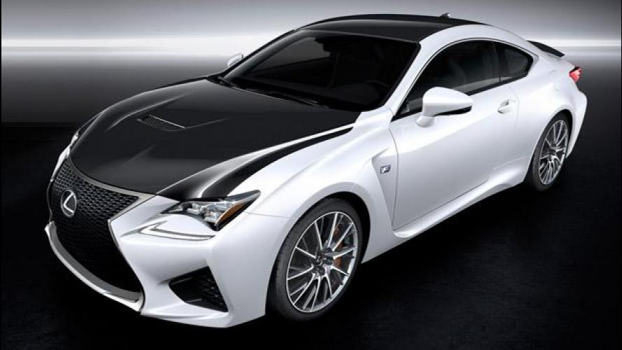 Lexus RC F GT3, la coupé da corsa
