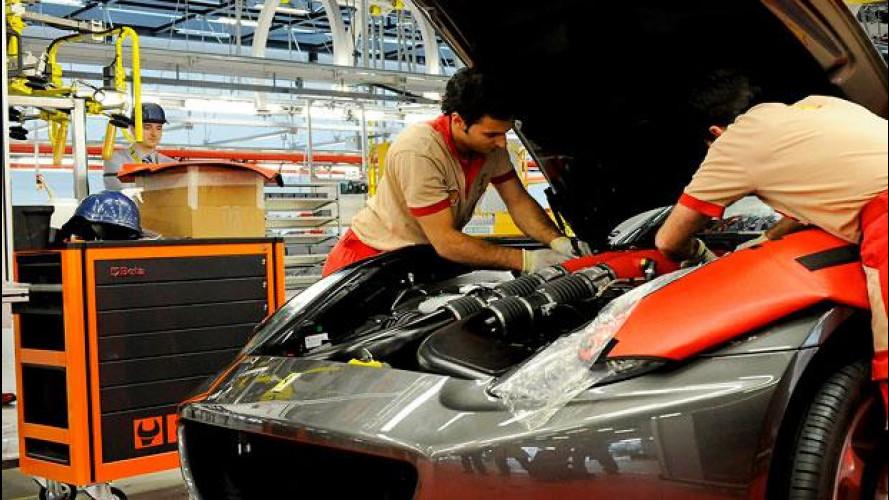 Premio record per i dipendenti della Ferrari per il 2015