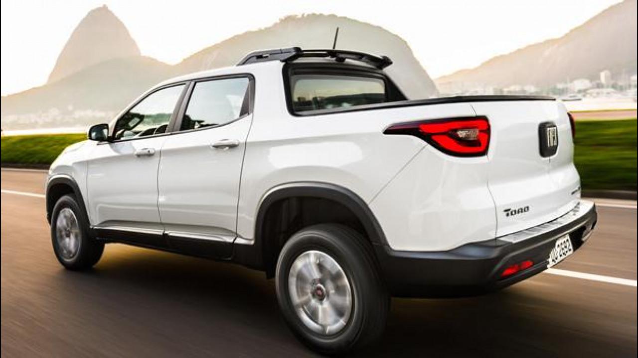 [Copertina] - Fiat Toro arriva in Brasile con prezzi da 17.200 euro [VIDEO]