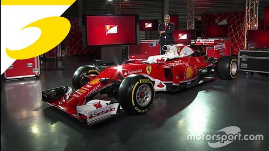Ferrari SF16-H è la monoposto della Stagione F1 2016