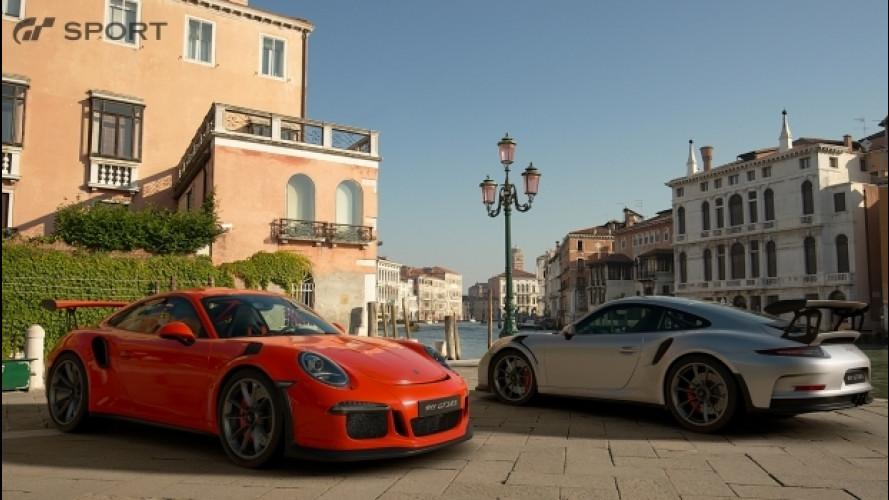 Gran Turismo Sport, c'è anche la Porsche 911 GT3 RS