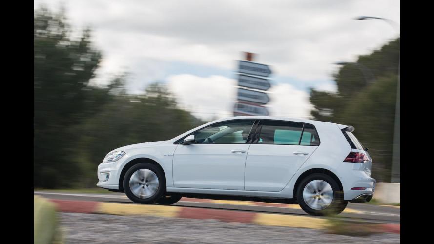 Volkswagen e-Golf, la prova dell'elettrica [VIDEO]