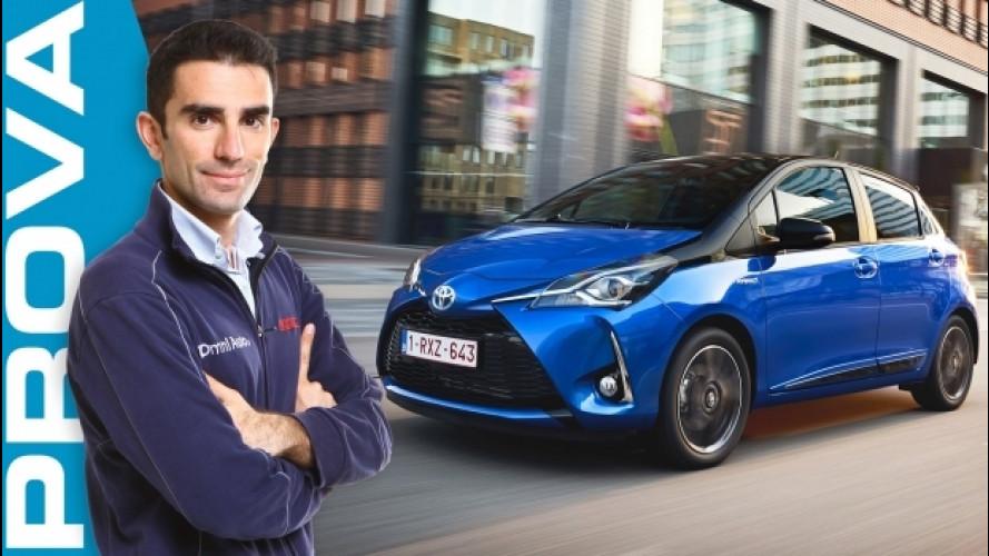 Toyota Yaris Hybrid 2017, come cambia l'ibrida più