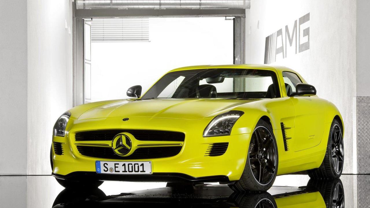 Mercedes-Benz SLS AMG E-Cell Prototype, 1600, 05.07.2010