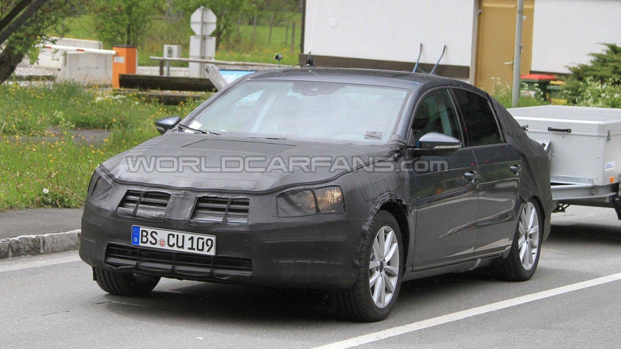 VW Passat major facelift latest spy photos - not next generation model
