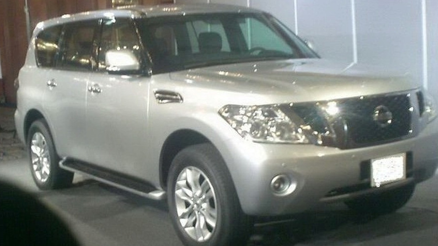 Nissan Patrol Photos leak after presentation