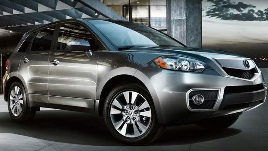 2010 Acura RDX Facelift Revealed