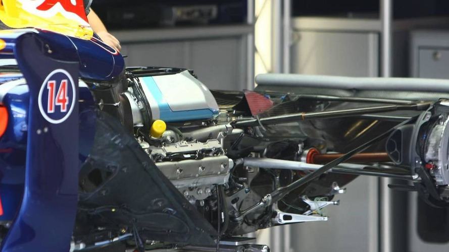 Red Bull Racing, RB5, Engine detail - Formula 1 World Championship, Rd 13, Italian Grand Prix, 10.09.2009 Monza, Italy
