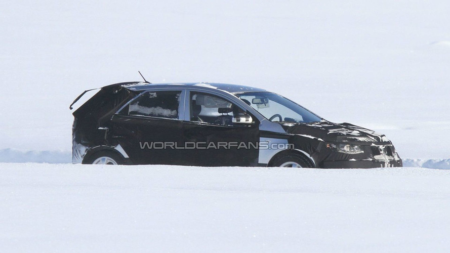 2012 Kia Forte Hatchback First Spy Photo