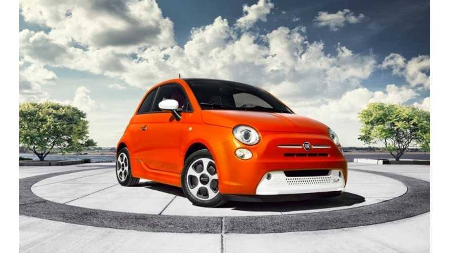 "Fiat 500e Winner of 2014 Ward's Auto ""10 Best Engines"" Award"