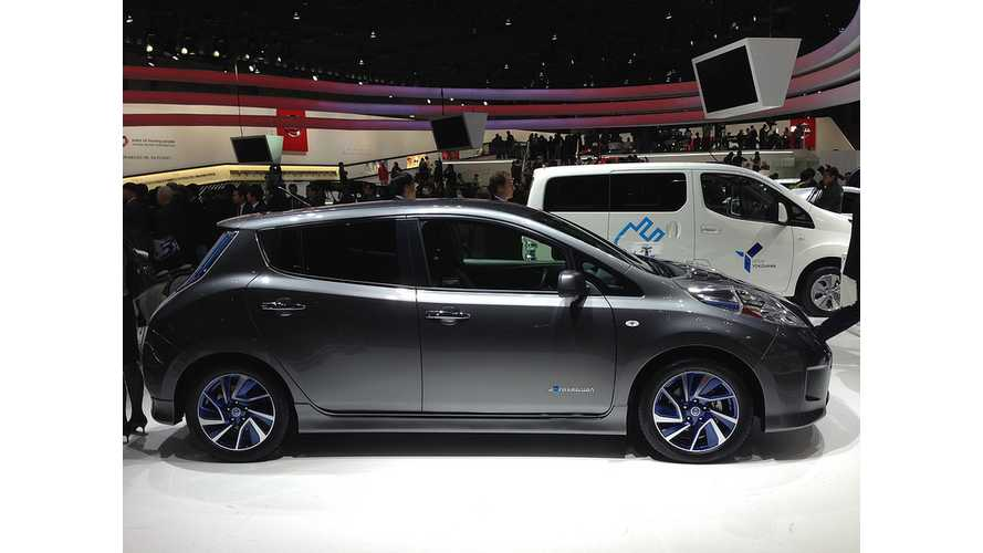 Nissan Announces Pricing For LEAF Aero Style in Japan