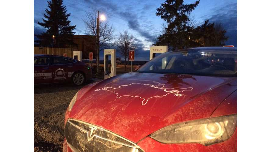 UPDATE - TRIP COMPLETE: Tesla Model S Coast-to-Coast Road Rally Play-by-Play Update