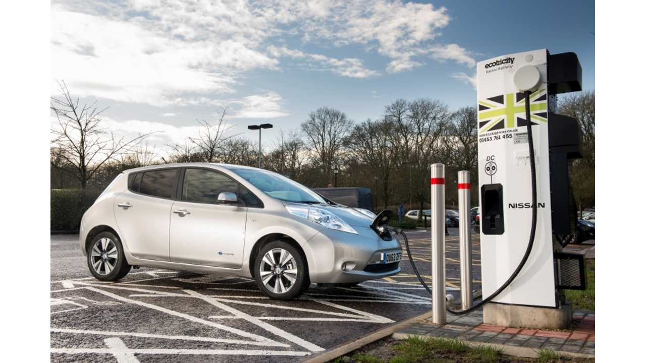 Nissan Installs Europe's 1,000th CHAdeMO Quick Charger