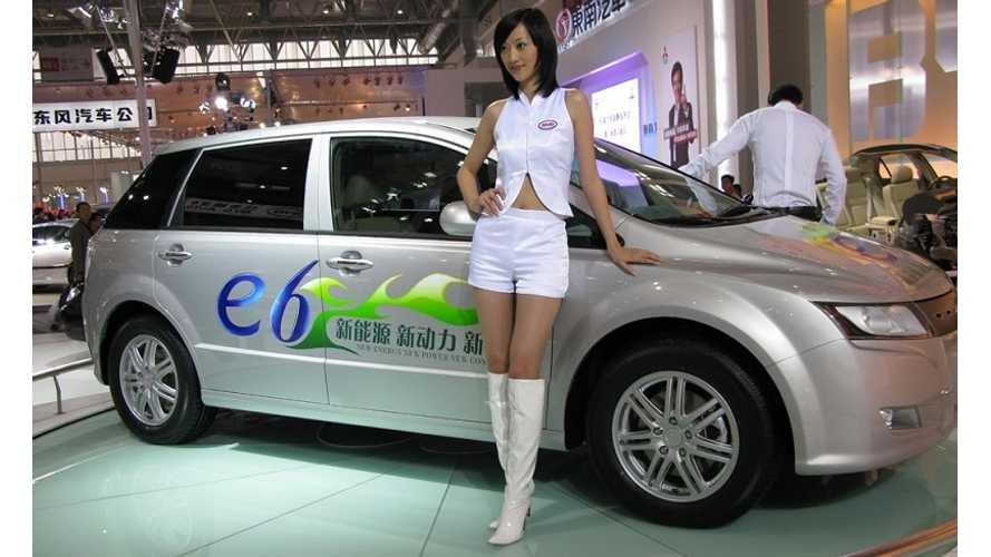 In 2012, China Was Home to 13,300 BEVs and 1,000 PHEVs