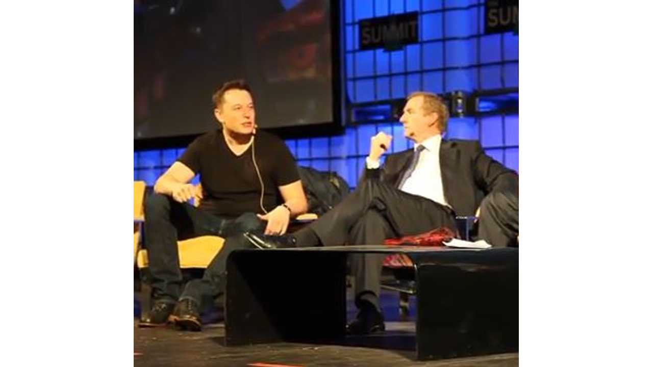 Video: Elon Musk Takes to the Stage in Ireland
