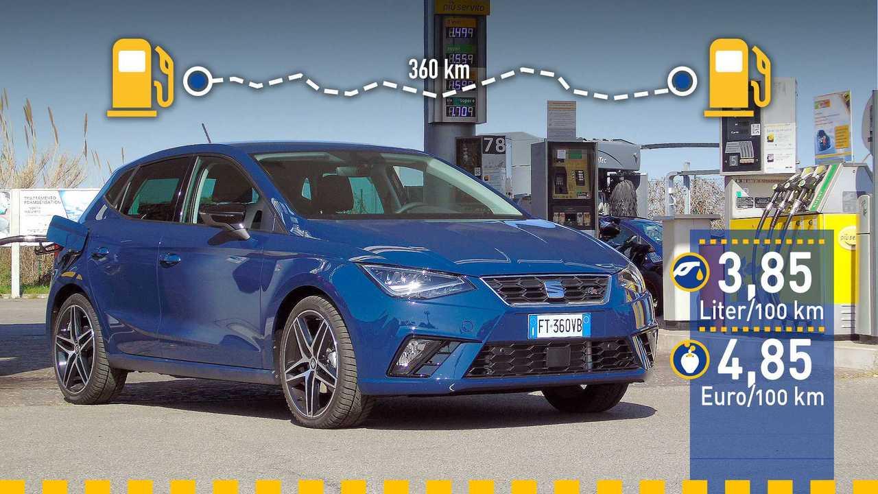 Seat Ibiza Verbrauchstest