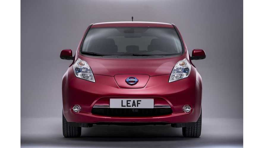 Nissan to Offer Battery Lease Option on LEAF in Europe; Complete Pricing Details Announced