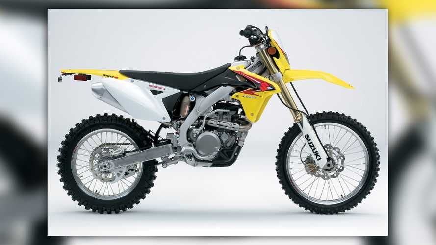 2010 Suzuki RMX450Z gets serious about enduro